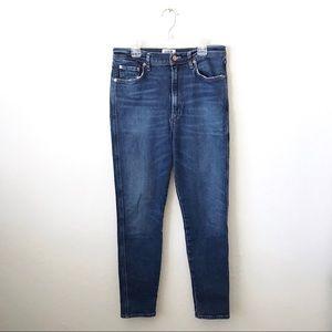 AGOLDE Roxanne Super High Rise Skinny Jean